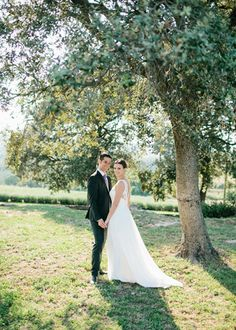 Los novios. Boda en el campo organizada por Detallerie. Bride and groom. Outdoors wedding by Detallerie.