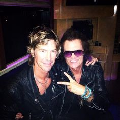 Brother Duff McKagan and yours truly. The River... Runs Deep