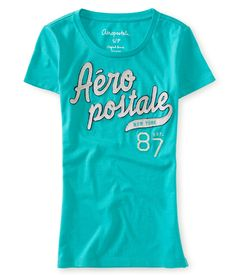 badbcea1e Aero New York 87 Glimmer Graphic T - Aeropostale Guys And Girls, Hollister,  Graphic