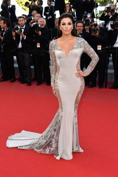 Eva Longoria in Gabriela Cadena at the 2015 Cannes Film Festival.
