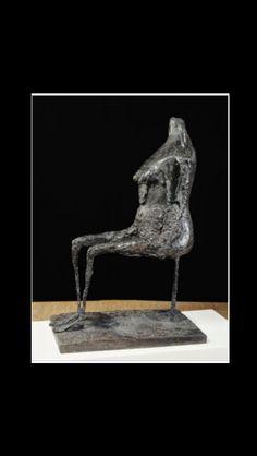 """Germaine Richier - """" L'eau """", 1953/54 - Bronze - 147 x 62 x 98 cm"""