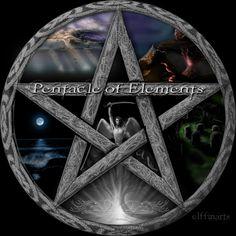 Pentagram Art | Wiccan Pentacle