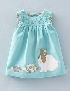 Animal Friends Cord Pinnie 73192 Day Dresses and Pinnies at Boden
