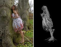 Atuendo Apropriado: People Wire Sculpture / Ayaka Ito - Randy Church