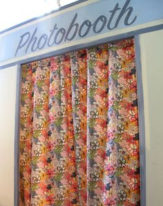Visit our #LibertyPrint photobooth