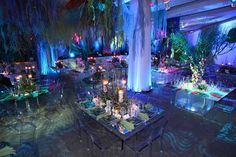 Go Deep: Syzygy Events Creates an Undersea Gala Ariel Under The Sea, Under The Sea Theme, Under The Sea Party, Debut Themes, Dance Themes, Prom Decor, Wedding Decorations, Avatar Theme, Underwater Theme