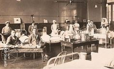 10A Ward [Lower], Royal Victoria Hospital, Netley which probably dates from the 1st World War. It comes from the collection of VAD nurse Gwendoline Ashley