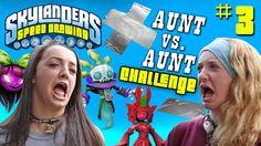 Skylanders Speed Drawing Challenge Part 3: COME ON OVER! Aunt vs. Aunt D...