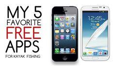 My 5 Favorite Free Apps for Kayak Fishing