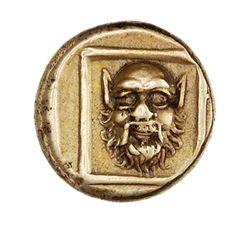 (Greece) Electrum 1/6 Stater. Mytilene, Lesbos, Greece. ca 377 BCE - 326 BCE.