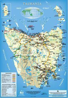Tasmanian Travel Guide & Cheapskate& Guide to Exploring Tasmania By Car&