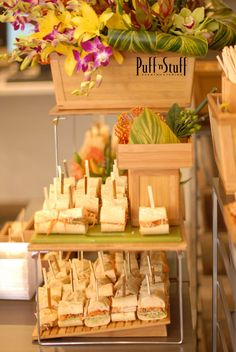 The Orient Station | Banh Mi Sandwich | Puff 'n Stuff Catering | Orlando Container Store VIP Grand Opening