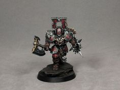 How to paint khorne blood warrior armour