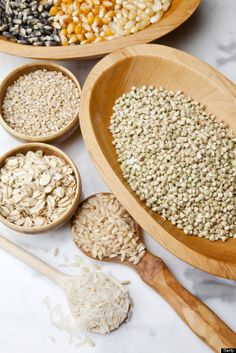 beautiful shot of #glutenfree grains!