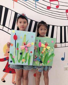 Kindergarten Art Preschool Art Summer Crafts Spring Crafts For Kids Art For Kids Spring Art Summer Art Grade Art Art Activities Spring Crafts For Kids, Diy Projects For Kids, Summer Crafts, Art For Kids, Kindergarten Art, Preschool Crafts, Kids Crafts, Unicorn Diy, 2nd Grade Art