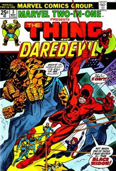 Marvel Two-In-One #3 Marvel Comics