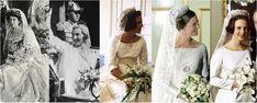 The Royal Order of Sartorial Splendor: Wedding Wednesday: Heirloom Veils