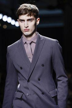 Bottega Veneta Fall 2013 Menswear #purple