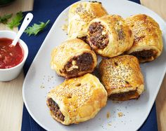 Greek Lamb Sausage Rolls Recipe | Beef + Lamb New Zealand