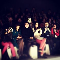 Most annoying trend of #NYFW? Using an iPad as a camera. Not since the 1940s have cameras been this obnoxious.