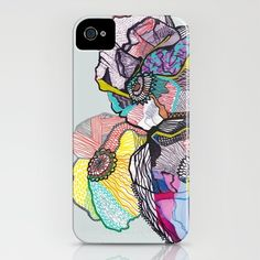 Growing in three.  by Mikaela Rydin  IPHONE CASE / IPHONE (4S, 4)  $35.00