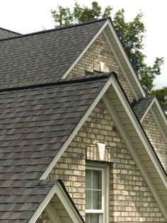 This is our roof color - Landmark designer shingle in Driftwood