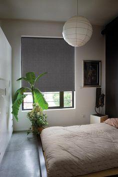 Copahome raamdecoratie rolgordijn grijs / La décoration de fenêtre. Store enrouleurs gris