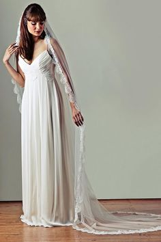 Soft lace wedding veil top 20