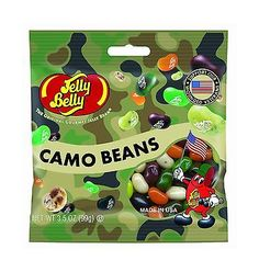 Jelly Beans 166723: Jelly Belly Camo Beans 3.5 Oz Bag (Pack Of 12) No Tax -> BUY IT NOW ONLY: $35.43 on eBay!
