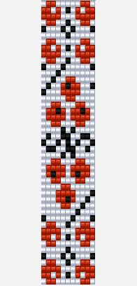 magiko kalderimi Source by oosdeelutasunka Seed Bead Patterns, Peyote Patterns, Beading Patterns, Cross Stitch Patterns, Seed Bead Projects, Beadwork Designs, Bead Loom Bracelets, Loom Bands, Seed Bead Necklace