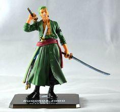 One Piece Roronoa Zoro Action Figure - 16cm - Action Figure Dank Meme Apparel