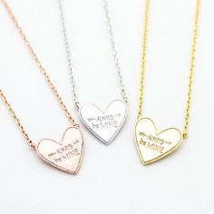 Always be Mine necklace – Imsmistyle.