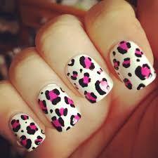 Resultado de imagen para uñas acrilicas moradas animal print