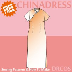 Chinadress sewing patterns & how to make