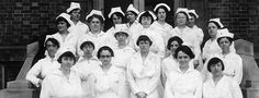 The nurses at Ellis Island were employed by the Public Health Service (PHS). Ellis Island's nurses were assigned to the general hospital wards and the contagious disease wards. In 1913, there were over 25 nurses employed in the hospitals. They worked under the supervision of the doctors, as well as their own hierarchy of chief and head nurses.