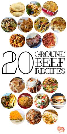 20 Ground Beef Recipes