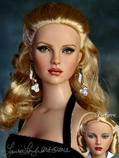 Love my doll from Laurie Leigh.  Tonner Convention Stewardess doll