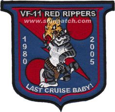 VF-11 Red Rippers Last Cruise Baby