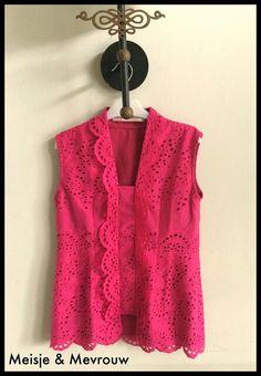 Kutubaru made of cotton embroidery