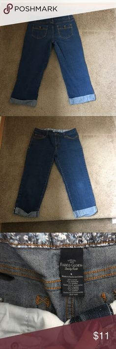 Faded glory New Capris size 8 Really cute/ perfect for summer size 8 Capris, never worn Faded Glory Pants Capris