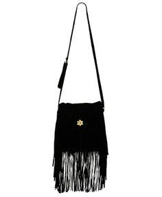 Fringed Suede Shoulder Bag | FOREVER21 - 1008586170