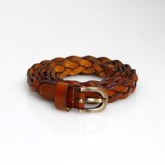 Brown Braided Belt! $19.95 Buy this fashion piece at: http://www.dailylook.com/f/todays-look