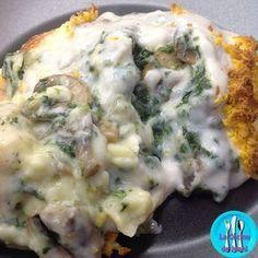 Espinacas con bechamel, una receta deliciosa de espinacas, puré de patatas y bechamel que te sacará de un apuro cuando tengas invitados.
