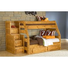 bunk beds for boys visions twin over full bunk bed kidsu0027 bedroom furniture