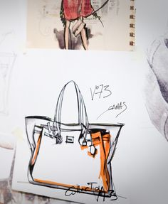 V73 Bag was born by an idea of the Italian designer Elisabetta Armellin. This is the first drawing...when everything begins! #v73 #bag #elisabettaarmellin #italy