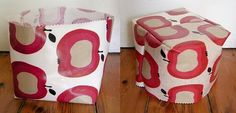 Oilcloth baskets : Jezze Prints