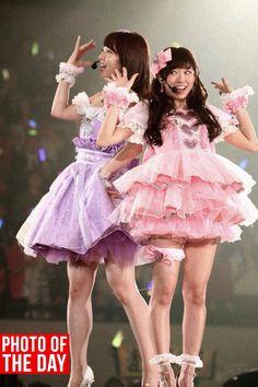 Kashiwagi Yuki & Watanabe Miyuki NMB48