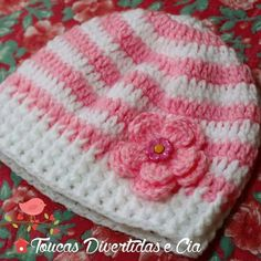 Idea Beanie, Hats, Crocheting, Fashion, Baby Beanie Hats, Crochet Hooks, Ganchillo, Moda, Hat