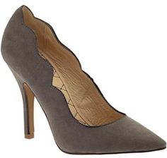 Gorgeous grey suede heels. http://rstyle.me/~2URuL