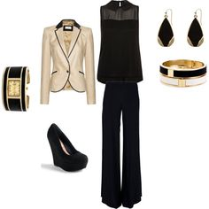 """Type of outfit I'll need to interview for a possible change in career..."" by drrunt on Polyvore"